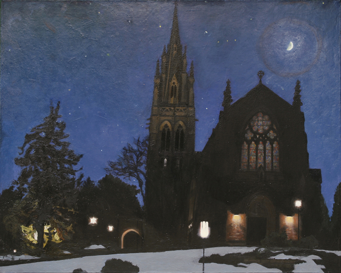 Chapel at Night